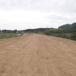 西田地区道路改良工事